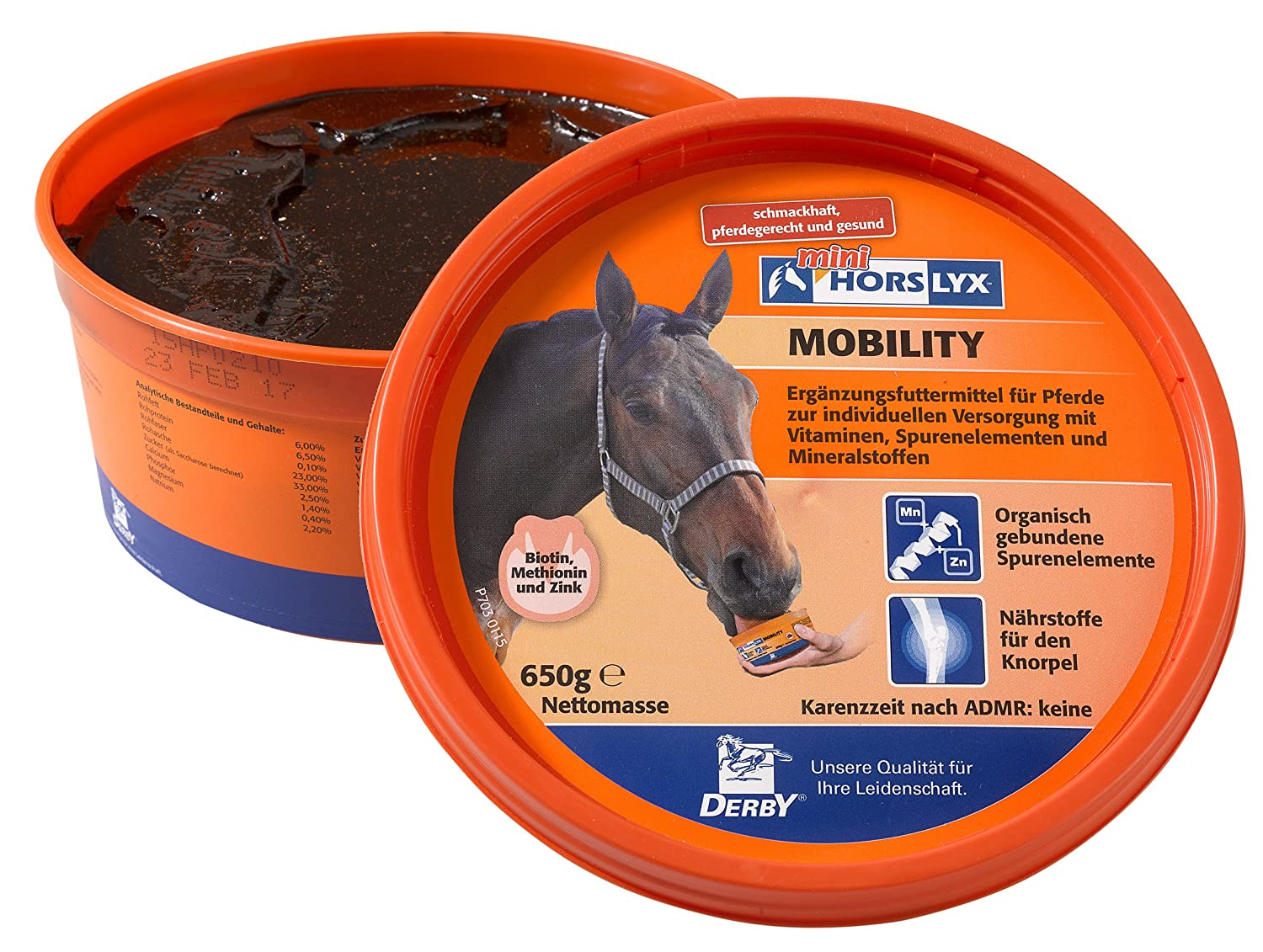 Derby horslyx Mobility 650g