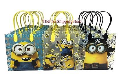 Despicable Me Minion Party Favor Gift Goodie Bag