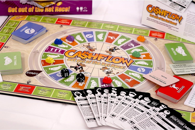 CASHFLOW - English Edition - Rich Dad Investing Board Game by Robert Kiyosaki - 2015 Edition - Updated Version of 101 Board Game: Amazon.es: Juguetes y juegos