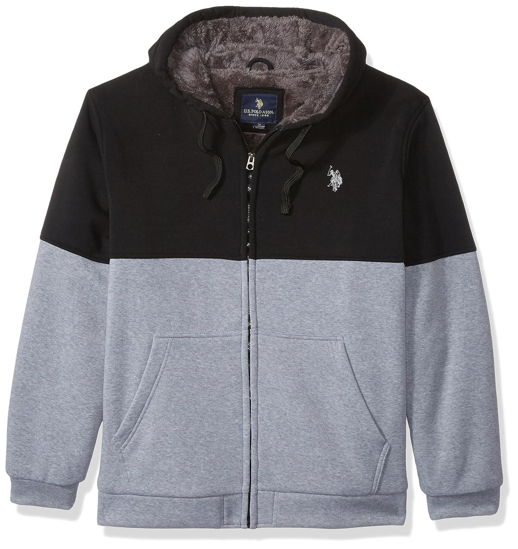 U.S. Polo Assn. OUTERWEAR メンズ B0736DY812 3X|Black 6381 Black 6381 3X