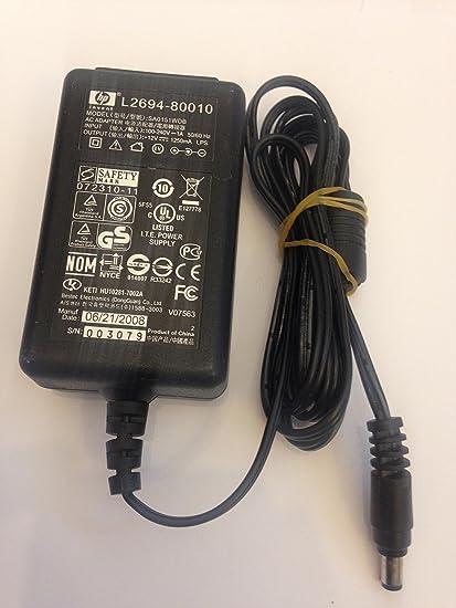 Adaptador de Corriente para Impresora HP L2694-80010, 12 V, 1250 ...