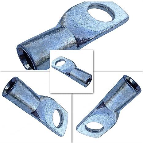 Terminal de cable 35mm2 M8 4x anillo ojal de presi/ón ojal