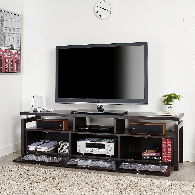 Amazon Furniture of America Bauston Espresso Entertainment
