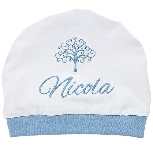 Cappello Nascita Cappellino Per Neonati Con Ricami