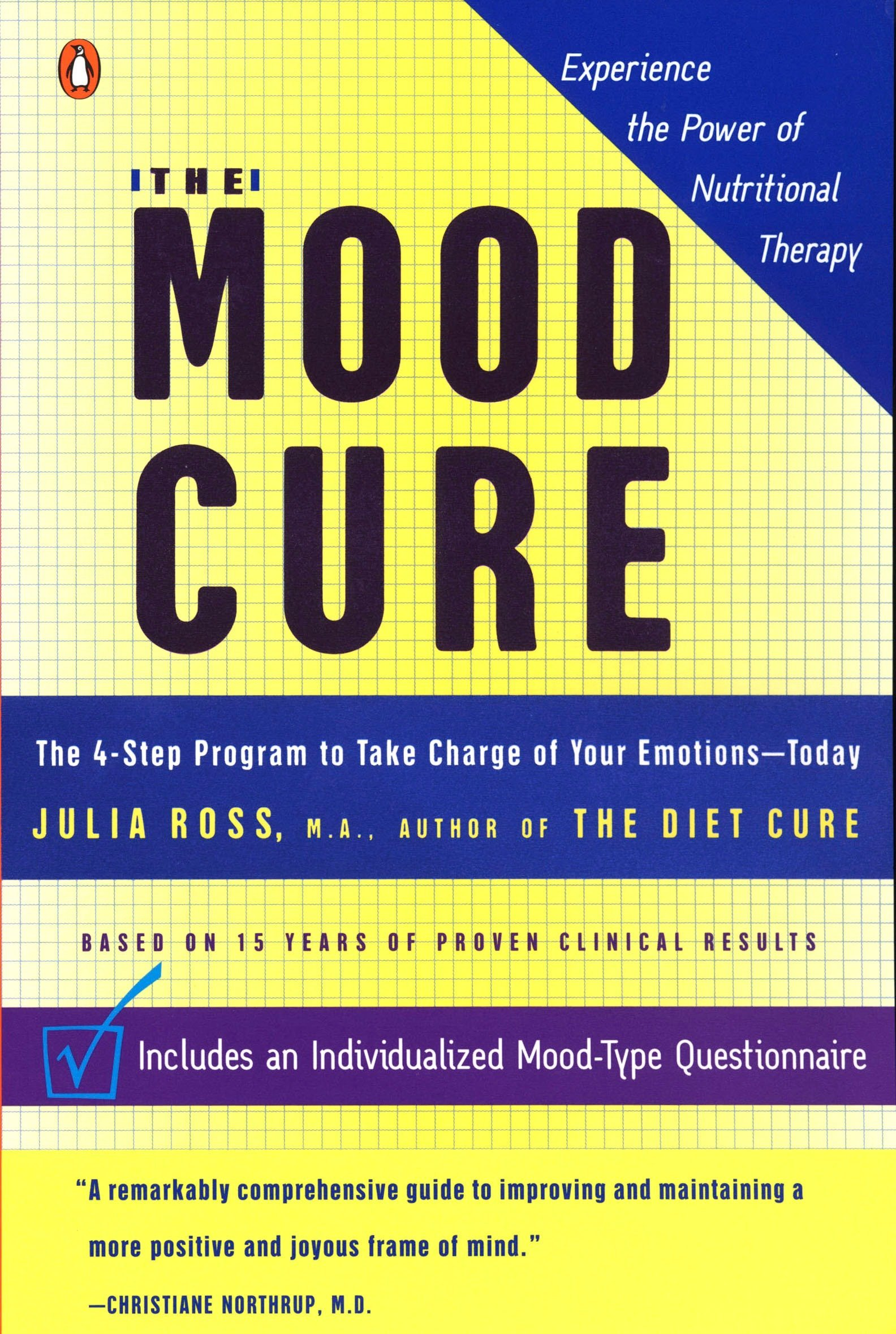 The Mood Cure: The 4-Step Program to Take Charge of Your Emotions--Today by Penguin Books (Image #1)