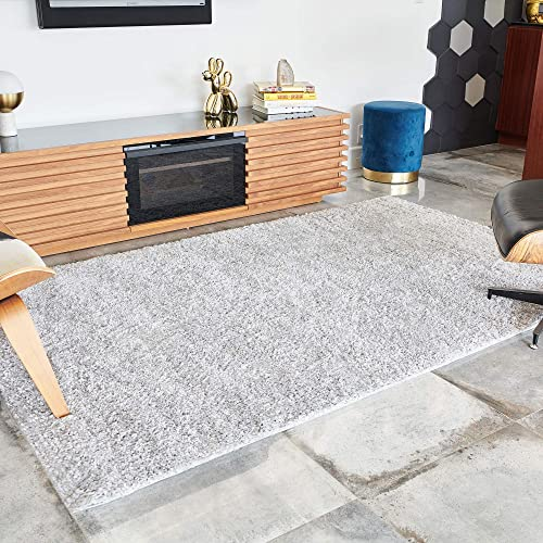 BELLEZE Parma Luxury Ultra Soft Fluffy Area Rug Modern Indoor Shaggy Plush Fluffy Nursery Rugs Floor Carpet