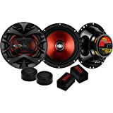 BOSS Audio Systems CH6CK Component Car Speakers - 350 Watts of Max Power and 175 Watts Per Set, 2 6.5 Inch Speakers Crossover