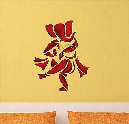 Decals Design  Dancing Lord Ganesha  Wall Sticker (PVC Vinyl 80f15a3e1