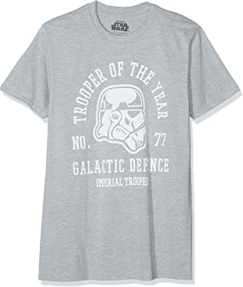 Star Wars Trooper of The Year Camiseta para Hombre: Amazon.es: Ropa y accesorios