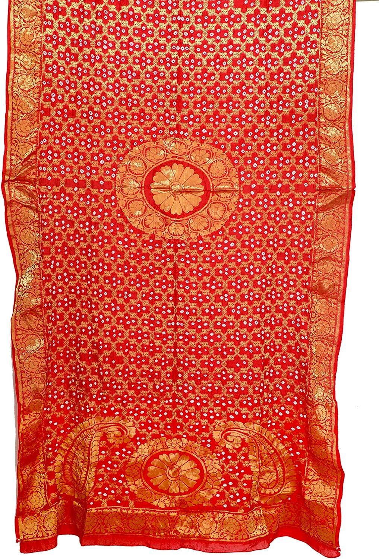 Banarasi Silk Handmade Zari Dupatta Hizab Stole Hizab Veil