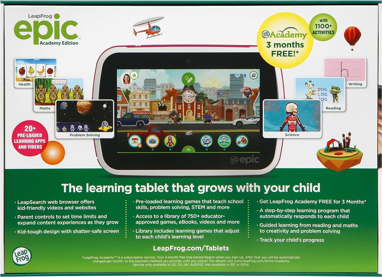 LeapFrog 602253 - Tableta electrónica, Color Rosa: Amazon.es: Juguetes y juegos
