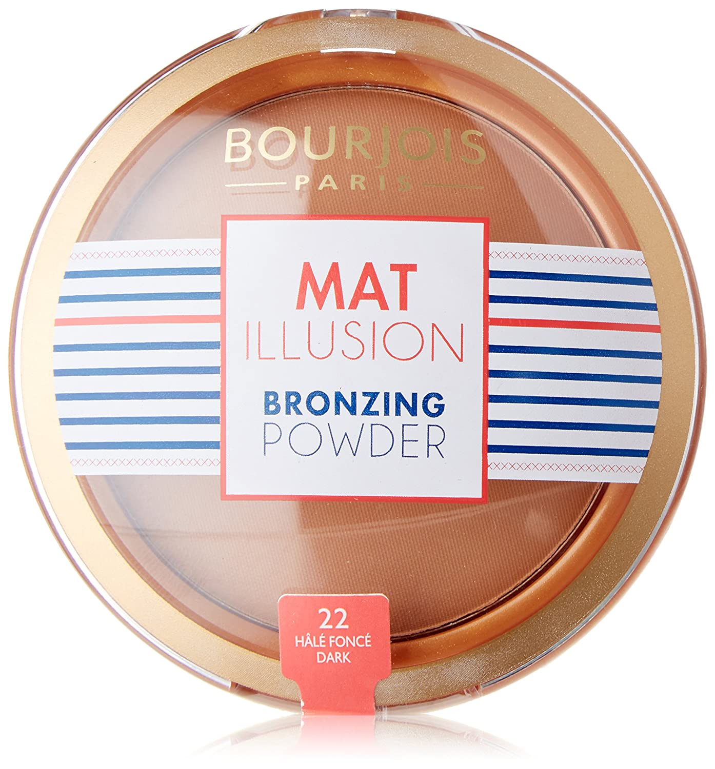 Bourjois Mat Illusion Bronzing Powder Number 22 Hale Fonce Coty 29102598022