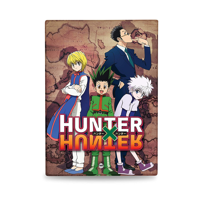 Hunter x Hunter Gon Killua Leorio Kurapika Glass Frame with Stand Tempered Glass Cool Anime Gift