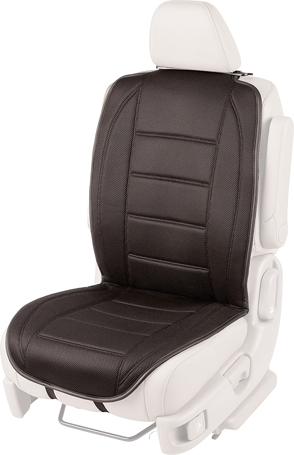 AirFlex 60-274005 Full Back Seat Cover with Fixed Air Compression, Black
