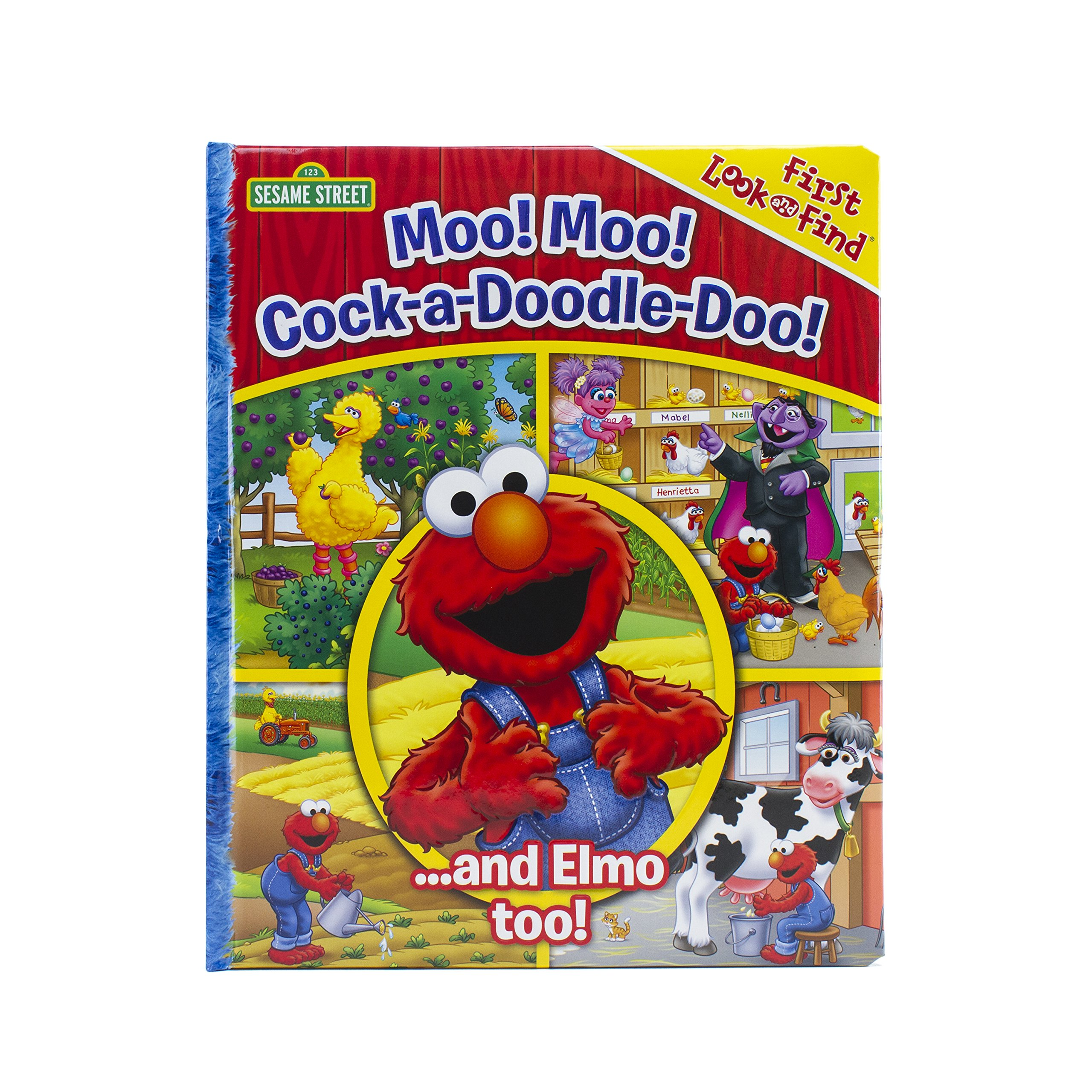 Download Sesame Street - Moo! Moo! Cock-a-Doodle-Doo! ...and Elmo too! - PI Kids ebook
