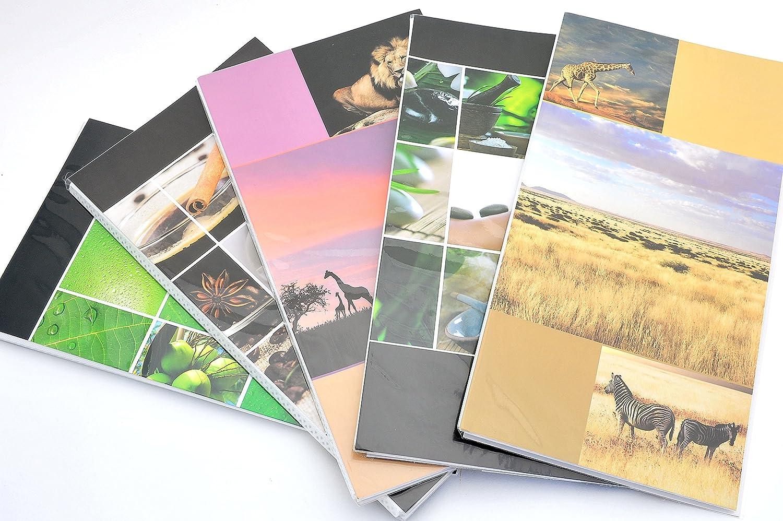 10/albums photos personnalisables face//dos /à pochettes 10/x 15/pour 960/photo / /graphiques assorties/ 96/photos CAD. 10/pi/èces. /Conf