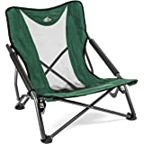 Amazon Com Stansport Low Profile Fold Up Chair Blue