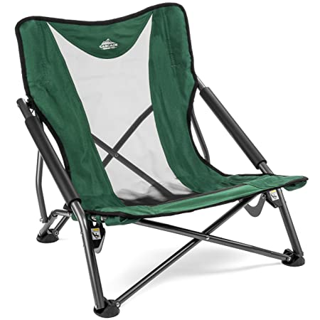 Cascade Mountain Tech Compact Low Profile Beach Outdoor Camping Concert Chair