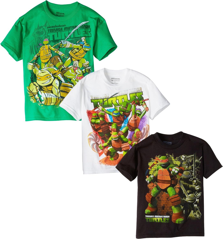 Teenage Mutant Ninja Turtles Boys' 3 Pack T-Shirt by Nickelodeon