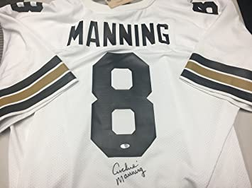 ... 8 Archie Manning Autographed Signed New Orleans Saints Authentic Mitchell  Ness Jersey Steiner Sports Hologram ... ad075f112