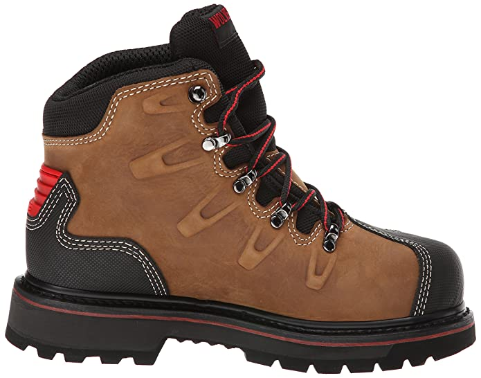 af05be88f22 Wolverine W10263 Men's Hacksaw WP Safety Boots - Brown - 14.0\EW ...