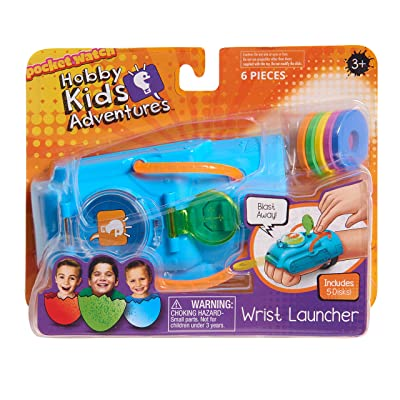 HobbyKids Wrist Launcher: Toys & Games