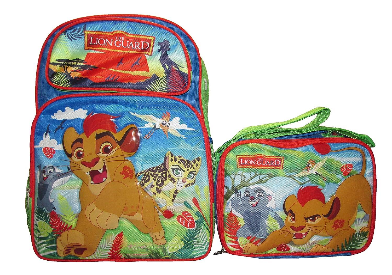 9c2ff6312d3 Disney Lion King Guard 16 Inch Kids Large Backpack   Lunch Bag Set - Combo   Amazon.co.uk  Toys   Games