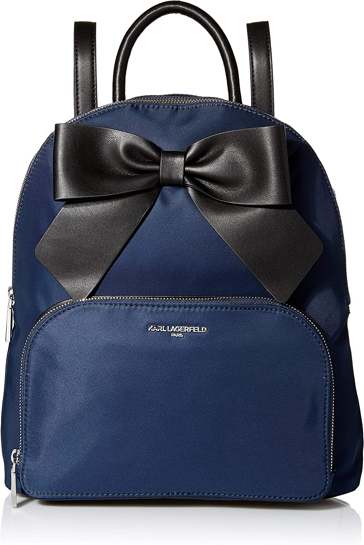 Karl Lagerfeld Paris Kris Nylon Bow Backpack