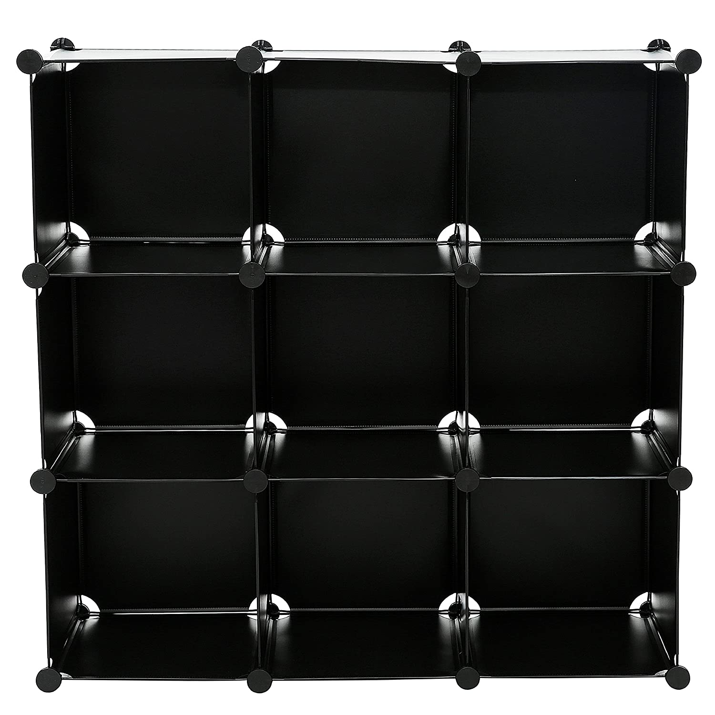 DIY 4 Cube Bookcase Shelf Semitransparent Storage Organizer Closet Cabinet Translucent SBTM3004A C/&AHOME