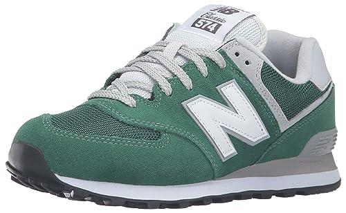 ml574 zapatillas new balance verde blanco