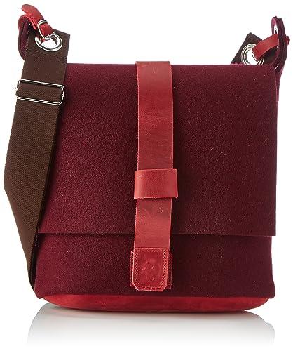 Business-Bag 699936 Damen Umhängetaschen 41x37x10 cm (B x H x T), Grau (77 Graphit 77) Haflinger