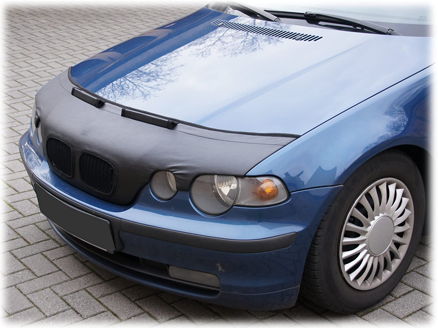 Amazon Com Hood Bra Front End Nose Mask For Bmw 3 E46 Compact 2000