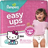 Pampers Easy Ups Training Underwear for Girls, Size 4 2T-3T (Pack of 26)