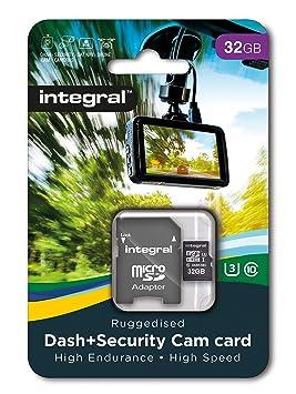 Tarjeta microSDHC UHS-I U3 Integral de 32GB clase 10 para ...