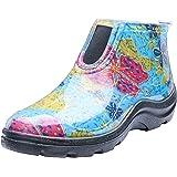 Sloggers 女式防水雨花园及踝靴舒适鞋垫,中夏季黑色,尺码 6,款式 2841BK06 10 蓝色 2841BL10