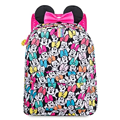 Minnie Mouse Rainbow Backpack - Personalizable  Amazon.co.uk  Clothing 18d11b01d0d9d