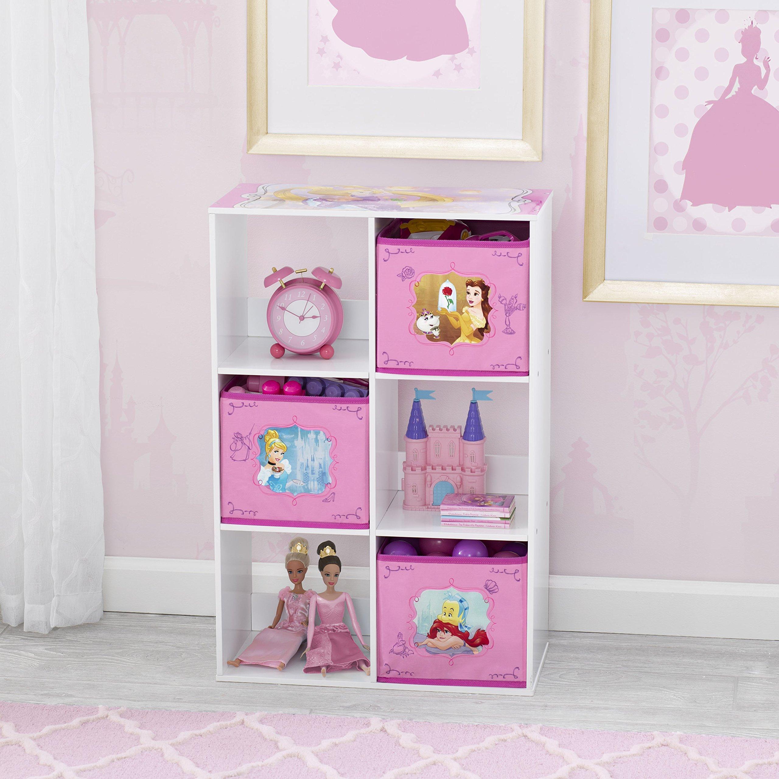 Delta Children 6 Cubby Storage Unit, Disney Princess by Delta Children (Image #1)