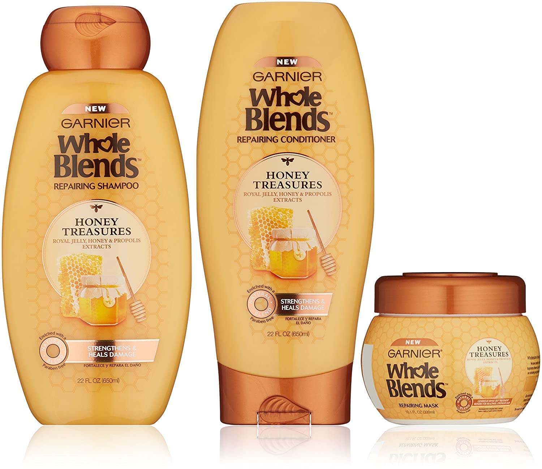 Garnier Hair Care Whole Blends Repairing Value Pack L' Oreal - Hair Care
