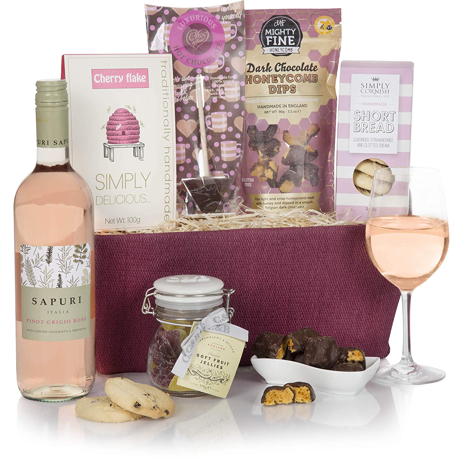 Pretty In Pink Gift Hampers For Her