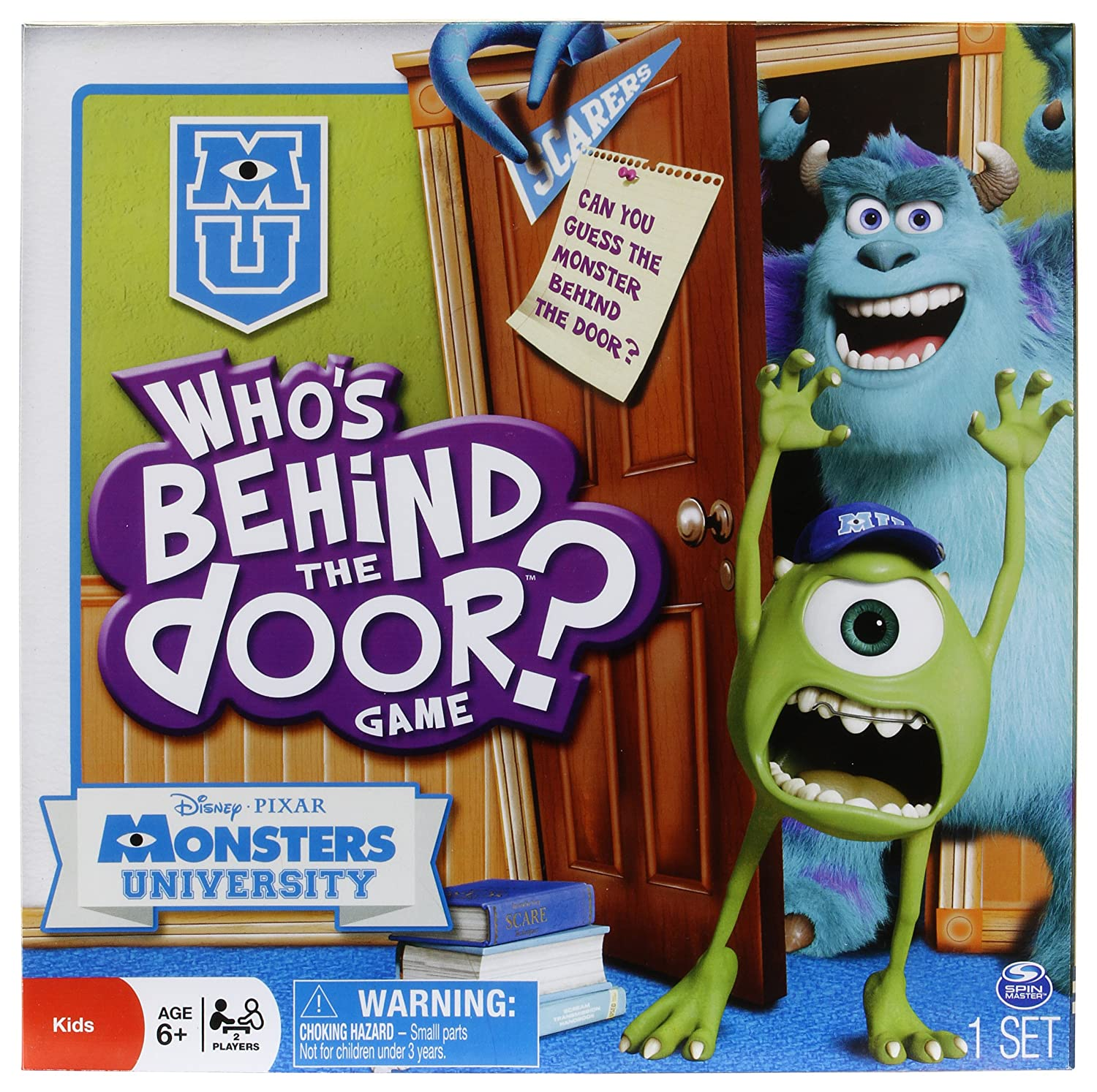 Amazon.com Who\u0027s Behind the Door Monster\u0027s University Edition Toys \u0026 Games & Amazon.com: Who\u0027s Behind the Door Monster\u0027s University Edition: Toys ...