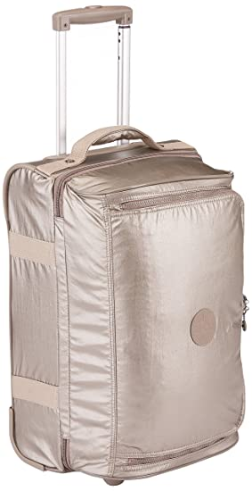 Kipling Teagan Trolley, 54 cm, 39 Litros, Dorado (Metallic Pewter): Amazon.es: Equipaje