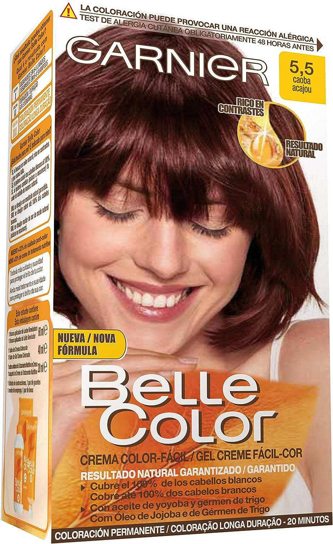 Garnier Belle Color Coloración, Tono 5.5 Caoba - 172 g ...