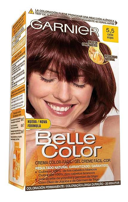 Garnier Belle Color Coloración, Tono 5.5 Caoba - 172 g