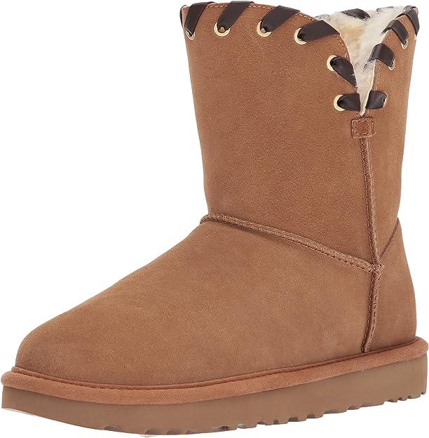 UGG Women's Aidah Winter Boot, Chestnut, Popular Winter Boots