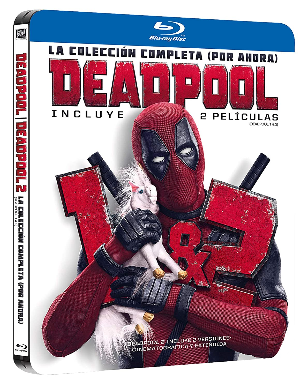 Pack Deadpool 1+2 Black Mtl Ed Blu-Ray [Blu-ray]: Amazon.es ...