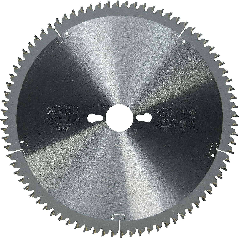 Dewalt DT4280-QZ Hoja para Sierra Circular estacionaria 260 x 30 mm 80D TCG-5/º