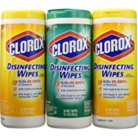 Clorox Disinfecting Wipes Value Pack, Bleach Free Cleaning Wipes - 75 Count Each (Pack of 4)