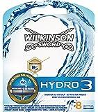 Wilkinson Sword Hydro 3 Klingenpackung, 8 Stück