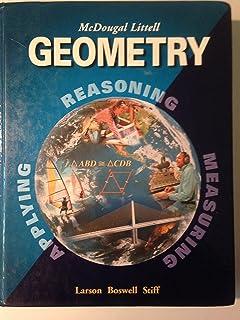 Amazon geometry applying reasoning measuring teachers mcdougal littell geometry bylarson fandeluxe Choice Image