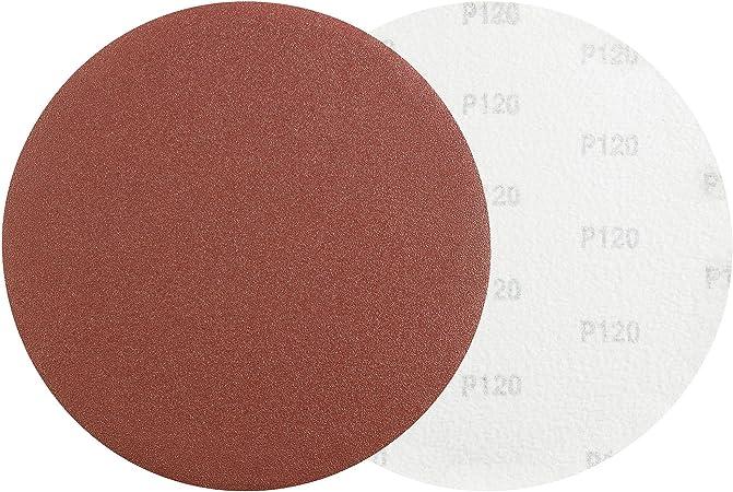 75 mm Meules 80-1000 meule PONCEUSE papier abrasif velcro détention Rouge 20 pièces